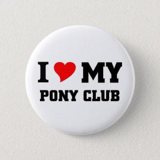 Badges J'aime mon club de poney