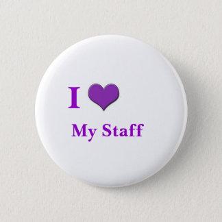 Badges j'aime mon pourpre de personnel