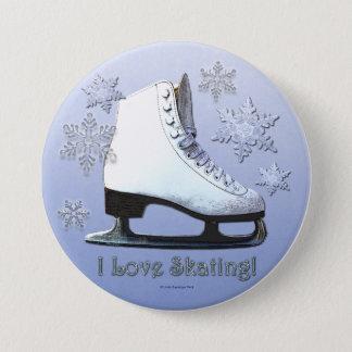 Badges J'aime patiner