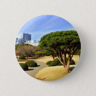 Badges Jardin national de Shinjuku Gyoen à Tokyo, Japon