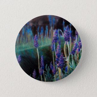 Badges Jardin par l'étang au crépuscule