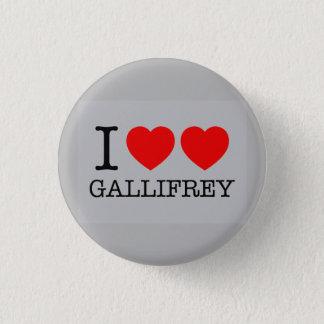 Badges Je double le coeur Gallifrey
