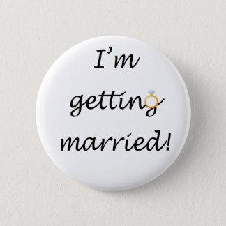 """Badges """"Je me marie !"""" Insigne standard"""
