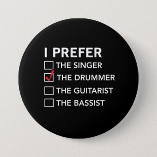 Badges Je préfère… le batteur