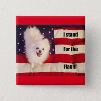 Badges Je représente le bouton de drapeau