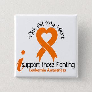Badges Je soutiens ceux leucémie de combat