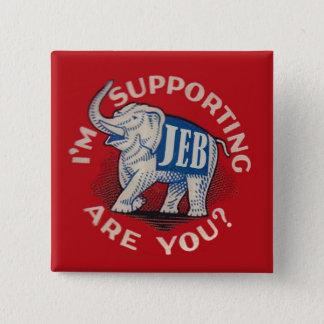Badges Je soutiens Jeb