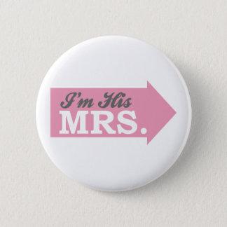 Badges Je suis sa Mme (la flèche rose)