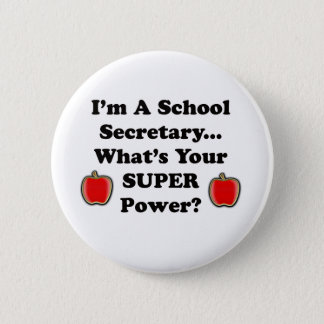 Badges Je suis un secrétaire d'école