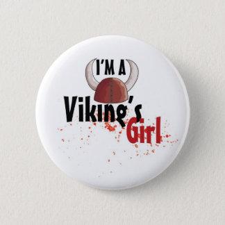 Badges Je suis une fille de Viking - bouton