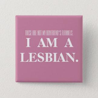 """Badges """"Je suis une lesbienne."""" Bouton"""