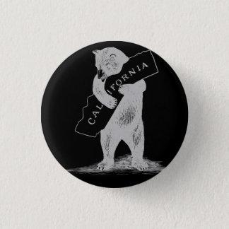 Badges Je t'aime la Californie--Noir et argent