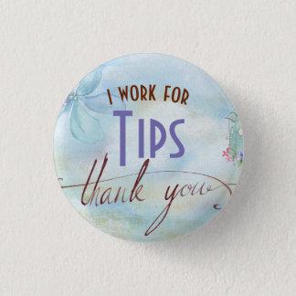 Badges Je travaille pour le bouton de serveur de