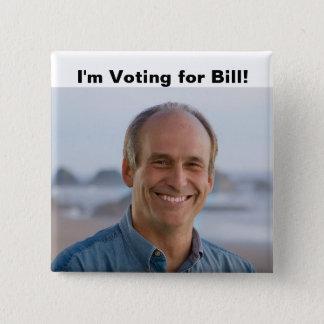 Badges Je vote le bouton de Bill