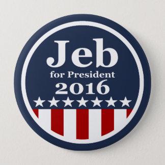 Badges Jeb pour des boutons de président 2016 campagne