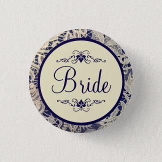 Badges Jeune mariée formelle ene ivoire de mariage de