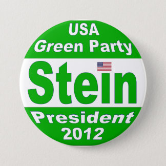 Badges Jill Stein pour le président Parti Vert 2012