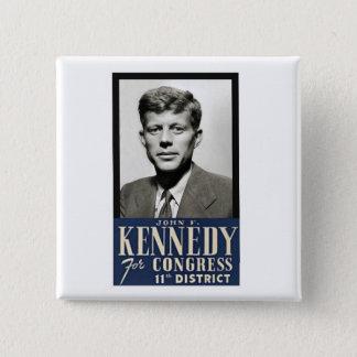 Badges John F. Kennedy pour le congrès