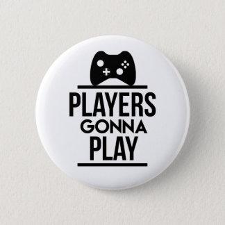 Badges Joueurs allant jouer le bouton de Xbox