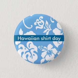 Badges Jour de chemise hawaïenne
