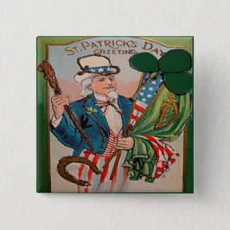 Badges Jour de la Saint Patrick vintage 21