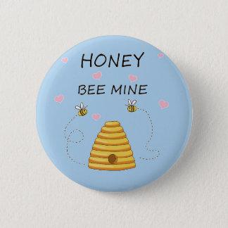 Badges Jour de Valentines de mine d'abeille