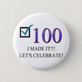 Badges Joyeux 100th anniversaire
