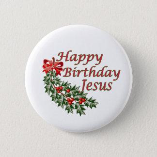 Badges Joyeux anniversaire Jésus