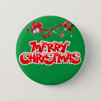 Badges Joyeux Noël et bonne année