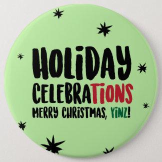 Badges Joyeux Noël, Pin de Yinz