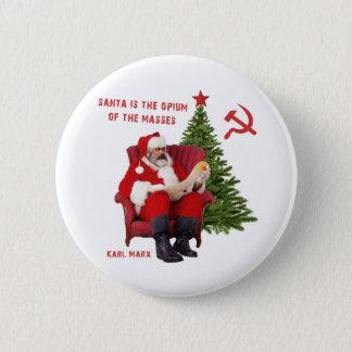 Badges Karl Marx Père Noël