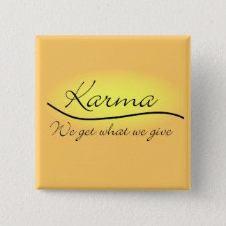 Badges Karma - obtenons nous ce que nous donnons