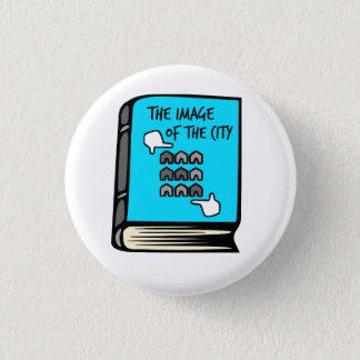 Badges Kevin Lynch l'image du bouton de livre de ville