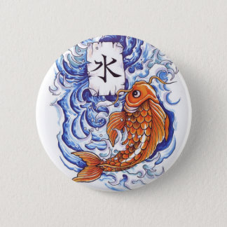 Badges koi oriental