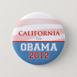 Badges La CALIFORNIE pour Obama 2012