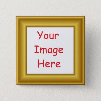 Badges La coutume a personnalisé le cadre pré imprimé