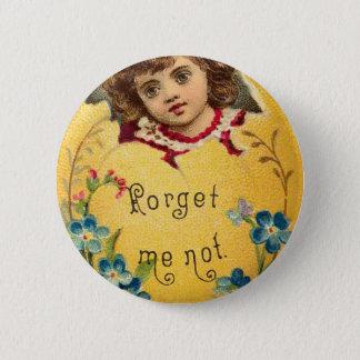 Badges La fille en oeuf m'oublient pas