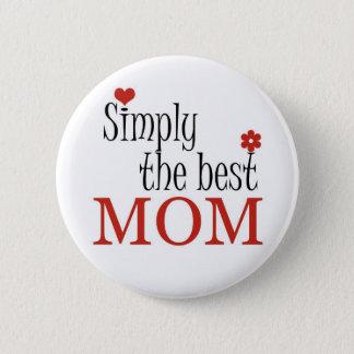 Badges La meilleure MAMAN - bouton