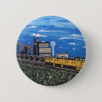 Badges La mine 33 et C et moi de Bethlehem Railroad