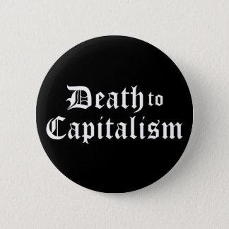 Badges La mort au bouton de capitalisme