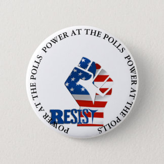 Badges La puissance aux scrutins résistent au bouton