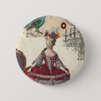 Badges La Reine française Marie Antoinette de lustre