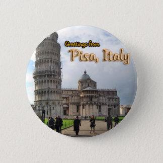 Badges La tour penchée de Pise, Italie