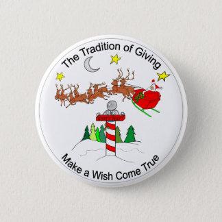 Badges La tradition de donner le bouton
