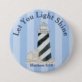 Badges Laissez votre 5h16 léger de Matthew d'éclat