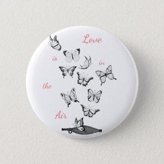 Badges L'amour est dans le ciel