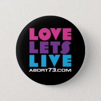 Badges L'amour laisse vivant/Abort73.com