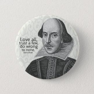 Badges L'amour tout de Shakespeare, font confiance à
