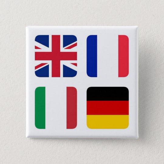 Badges Languages spoken - Langues parlées