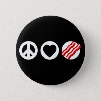 Badges Lard d'amour de paix